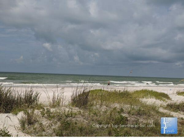 Quiet day on beautiful North Redington Beach on Florida's Gulf Coast