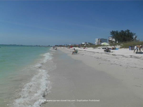 Relaxed day at Pass a Grille beach in St. Pete, Florida