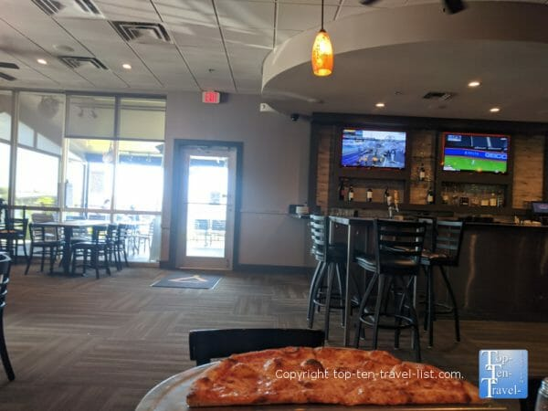 Slyce pizza in Madeira Beach, Florida
