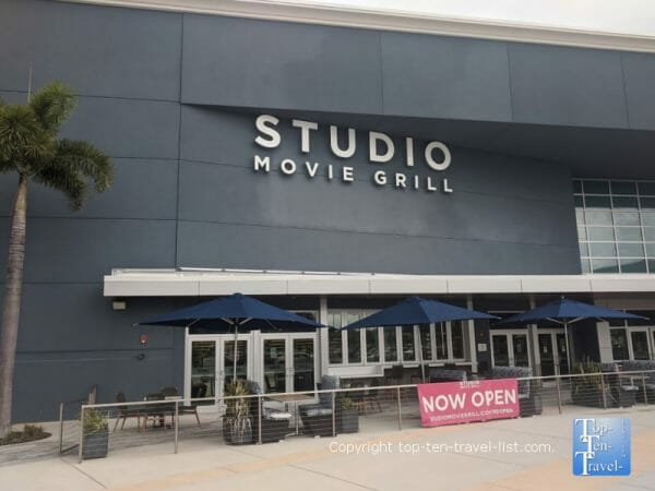 Studio Movie Grill dine-in theater in Seminole, Florida