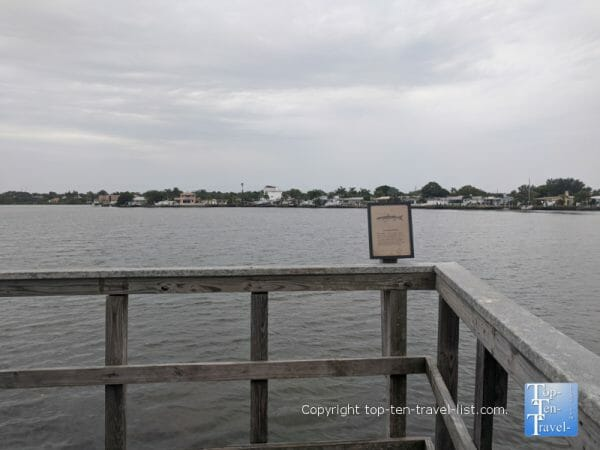 Tranquil views at Indian Rocks Nature preserve on Florida's Gulf Coast