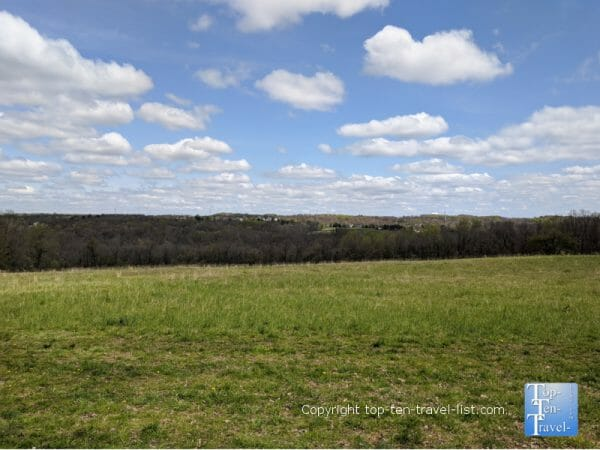 Beautiful views of the countryside at Tyler State Park in Bucks County, Pennsylvania