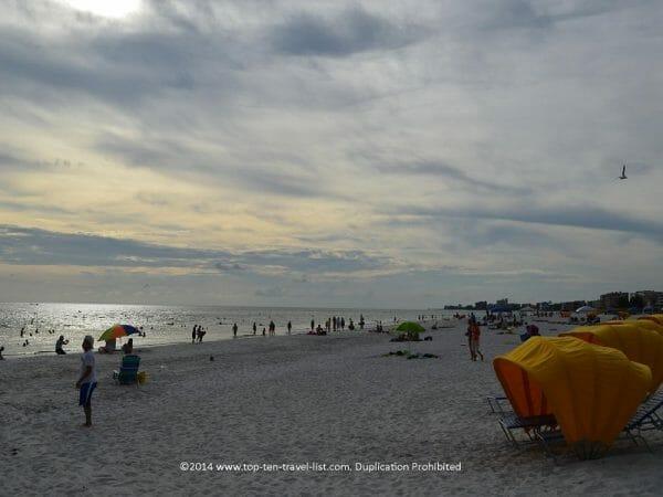 Cabana rentals at Madeira Beach on Florida's Gulf Coast
