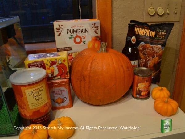 Pumpkin goodies at Trader Joe's