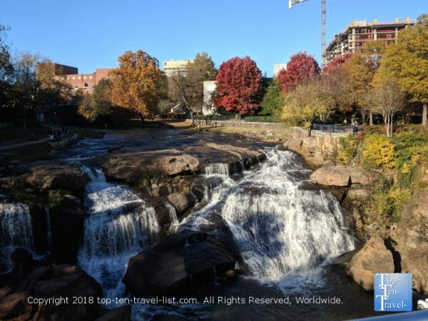 Autumn in downtown Greenville, South Carolina