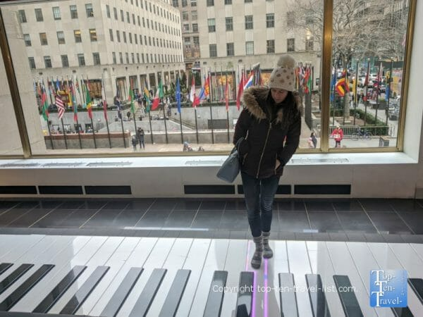 Fao Schwartz piano from Big - NYC