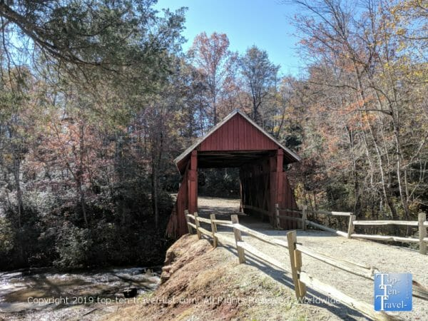 Campbell's Covered Bridge - the last remaining in South Carolina