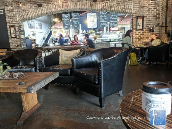 Cozy ambiance at Savannah Coffee Roasters