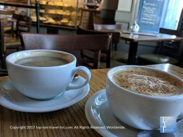 Delicious Pumpkin Spice Latte at Pastiche in Providence, Rhode Island