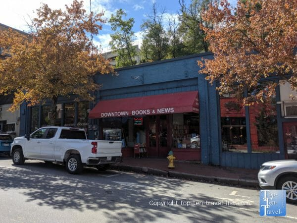 Downtown Books and News in Asheville, North Carolina