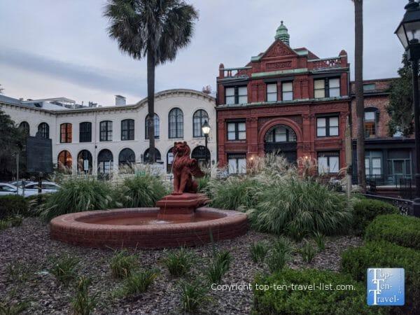 The Old Cotton Exchange building in Savannah, Georgia