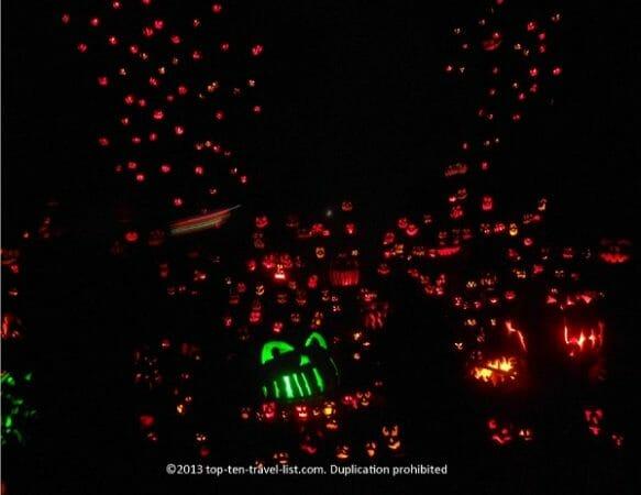 Jack O'Lantern Spectacular in Providence, Rhode Island