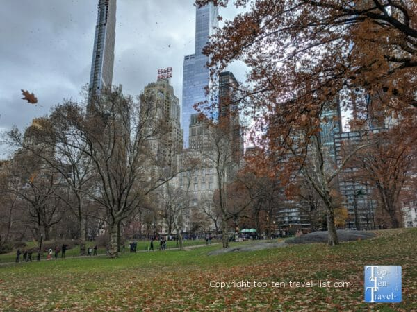 Beautiful Central Park in NYC - Elf and Home Alone 2 filming