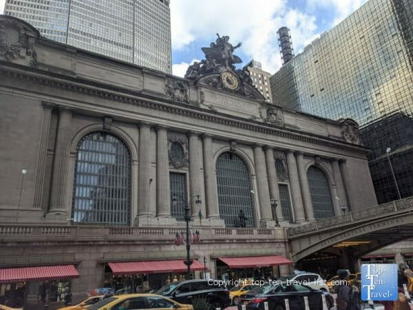 Beautiful historic Grand Central Station in New York City