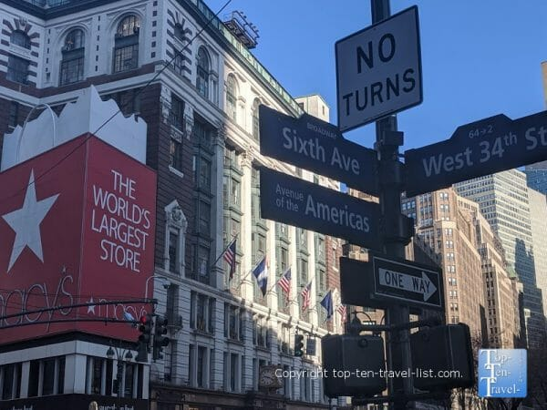 Macy's Herald Square in NYC - Miracle on 34th Street filming location