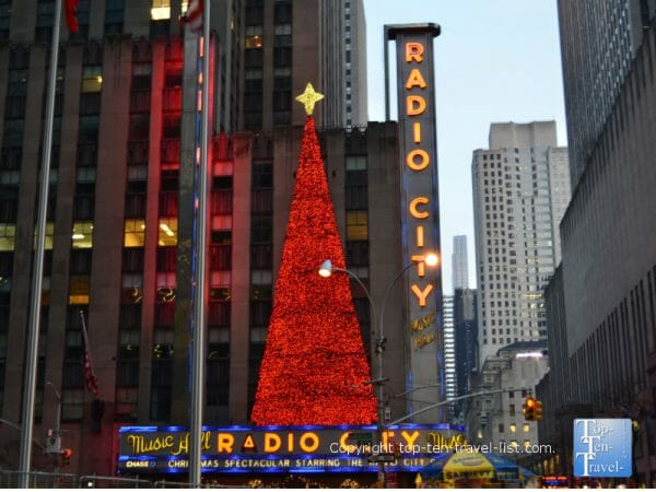 Radio City Music Hall in New York City - Home Alone 2 movie filming location
