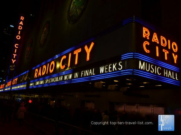 Radio City Music Hall in NYC - Home Alone 2 filming location