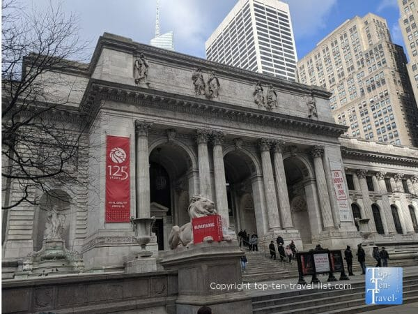 The NY Public Library - Ghostbusters filming location