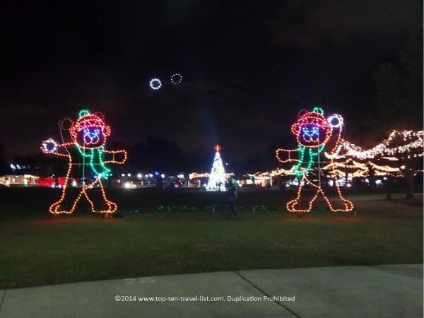 Largo Central Park Holiday Lights - Largo, Florida