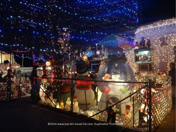 Oakdale Christmas House in St. Petersburg, Florida