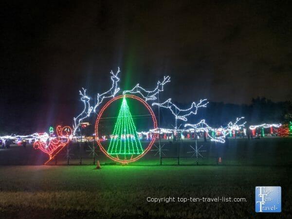 Holiday Lights at Largo Central Park in Florida