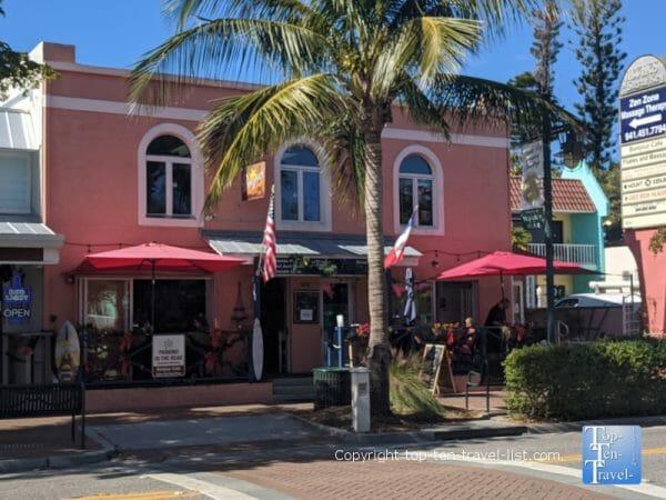 Siesta Key Village near Siesta Key Beach on Florida's Gulf Coast