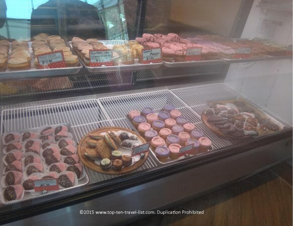 Gluten-free and vegan treats at Erin McKenna's bakery at Disney Springs in Orlando, Florida