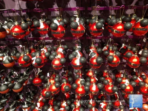 Mickey Christmas ornament at Disney's Days of Christmas
