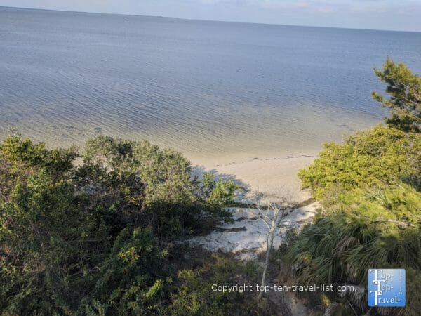 Pretty views of the Gulf via Key Vista Nature Park in New Port Richey, Florida