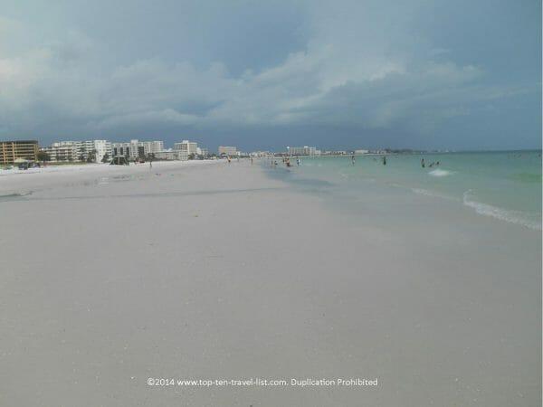 Siesta Key Beach in Sarasota, Florida