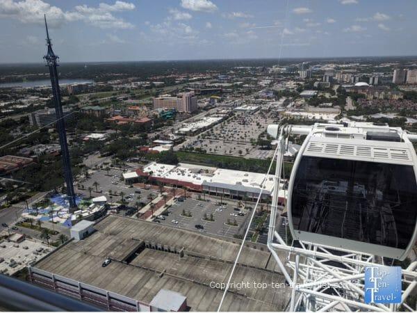 Views of Orlando via the Wheel at Icon Park.