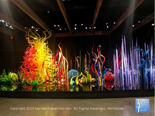 The colorful Chihuly Collection in St. Petersburg, Florida