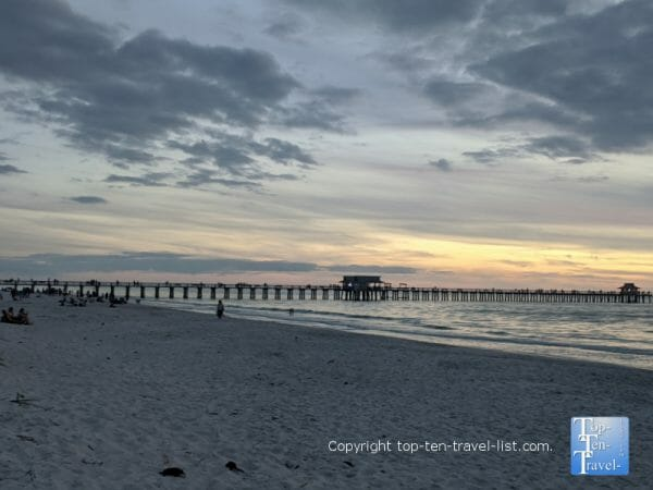 The historic pier in Naples, Florida