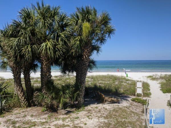 Peaceful Indian Rocks Beach on Florida's Gulf Coast
