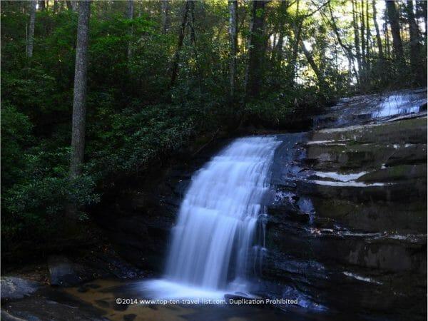 Longcreek Falls in Blue Ridge, Georgia