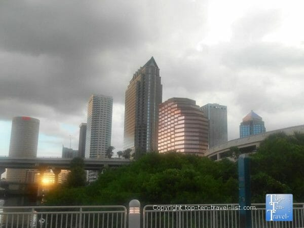 Stormy day in Tampa, Florida