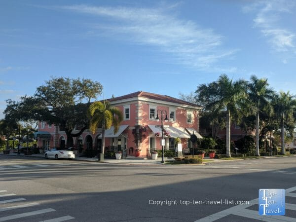 Third Street South dining and shopping in Naples, Florida