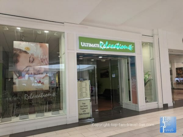 Ultimate relaxation at Westfield Countryside mall in Clearwater, Florida
