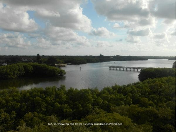 Scenic view at Weedon Island Preserve in St. Petersburg, Florida
