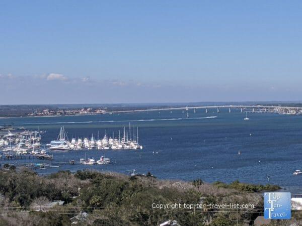 Beautiful views via the St. Augustine lighthouse