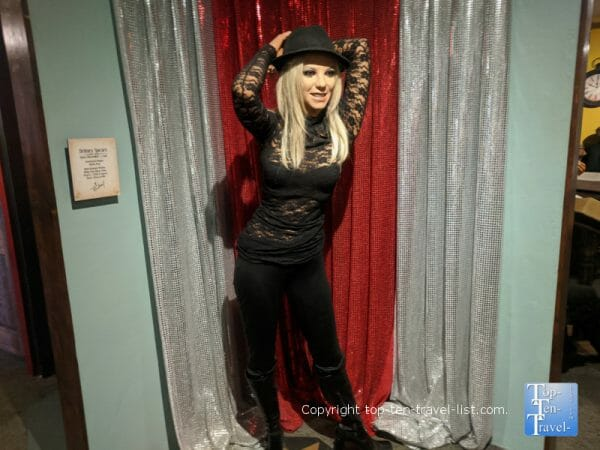 Britney Spears at Potter's Wax Museum in St. Augustine, Florida