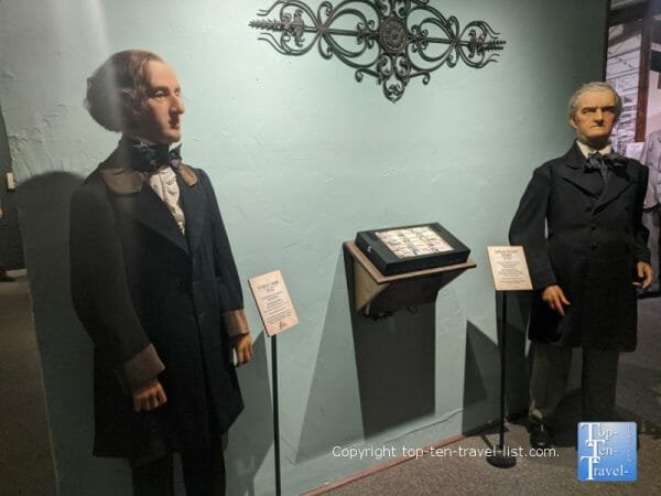 Chopin at Potter's Wax Museum in St. Augustine, Florida