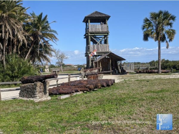 The Watchtower at the Fountain of Youth Park in St. Augustine, Florida