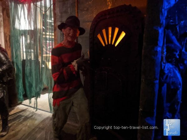 Freddy Krueger at Potter's  Wax Museum in St. Augustine, Florida