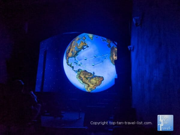 Discover Globe show at the Fountain of Youth Park in St. Augustine, Florida
