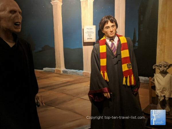 Harry Potter and Voldemort at Potters Wax Museum in historic St. Augustine, Florida