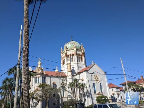 Flagler Memorial Presbysterian Church in historic St. Augustine, Florida