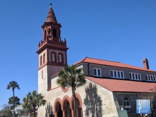 Flagler Grace United Methodist Church in St. Augustine, Florida