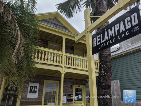 Relampago Coffee Lab in St. Augustine, Florida