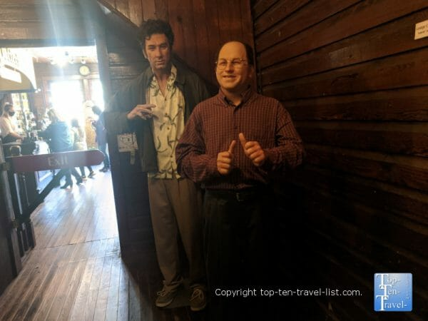 Seinfeld at Potter's Wax Museum in St. Augustine, Florida